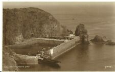 More details for sark creux harbour steam boat entering harbour c1930 judges real photo postcard