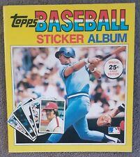 1981 Topps Baseball Sticker book unused Album George Brett Pete Rose KC Royals