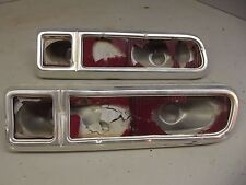 1970 FORD MAVERICK TAIL LIGHT HOUSINGS 1971 1972 1973 1974 Pinto