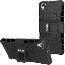 AMZER HYBRID WARRIOR CASE RUGGED COVER WITH STAND FOR HTC DESIRE 826 BLACK
