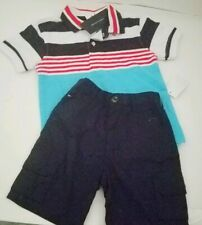 Tommy Hilfiger  Baby Boys 2 Pieces Polo Shorts Set 2p