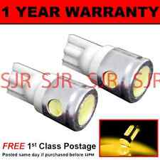 W5W T10 501 XENON AMBER 3 LED SMD SIDE REPEATER INDICATOR BULBS X2 HID SR101102