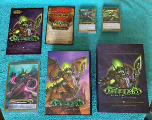 WOW RAID DECK MAGTHERIDONs LAIR warcraft world of Warcraft New Sealed See Detail