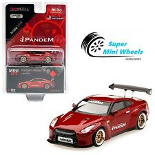 Mini GT 1:64 Pandem Nissan GT-R (R35) GT Wing (Lava Red) #92【In stock】