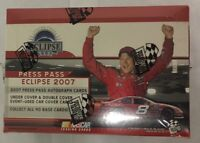 2007 Press Pass Eclipse NASCAR Racing Hobby Edition Box Factory Sealed 24 Pack