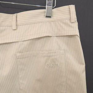 adidas Mens Golf Shorts Size 38 striped stretch climacool