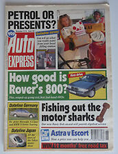 AUTO EXPRESS MAGAZINE Issue No. 163