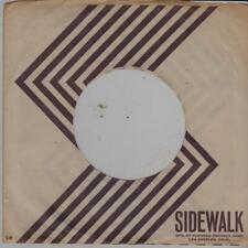 US Sidewalk record sleeve Original 60's - Johnny Praye, Mugwumps, Unforscene