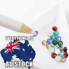 Wax Picking Picker Pencil Pen Rhinestone Gem Crystal Nail Art Tool Free Shipping