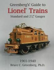 "Greenberg's Guide to Lionel Trains Standard & 2 7/8"" Gauges First Edition Signed"