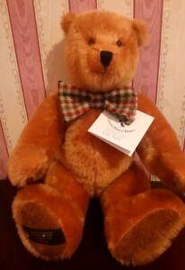 Canterbury Bears Brandy Vintage Teddy 9816 in original Signed Gund Collectibles