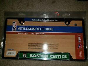 NBA authentic basketball Auto tag frame Boston celtics license plate frame bird