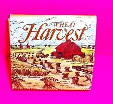Vintage WHEAT HARVEST Cigarette Tobacco Wheat Rolling Papers SUPER RARE Spain