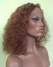 100% Indian Remy Full Lace Wig - Curly Wave Pattern!!!