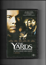 "VHS ""The Yards"" (2000) Mark Wahlberg & Charlize Theron (Keine DVD)"