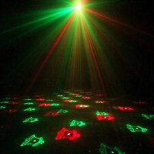 Holiday Design Laser Light Projector - 12 Patterns - Red and Green