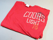 COORS LIGHT 78 Medium T SHIRT Tee top brewery beer bar aparel lite draft NEW