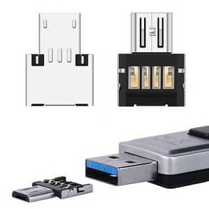 Mini Adaptateur Micro USB OTG Ultra Compact pour clé USB Tablette Souris