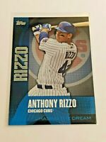 2013 Topps Baseball Chasing the Dream - Anthony Rizzo - Chicago Cubs