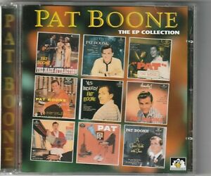 Pat Boone - The EP Collection   (See For Miles 1997)  original 1957-63 tracks
