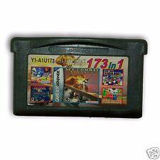 【173 in 1】Nintendo Game Boy Advance SP Handheld System Cartridges