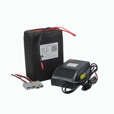 48v 20ah Rechargeable Li-ion Battery Pack for 1000W Ebike Scooter 5A Charger
