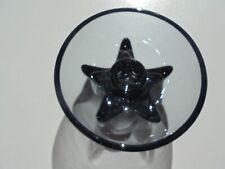 Vintage Heisey Glass Lodestar Smoke Candleholder Excellent