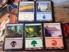 MTG Magic The Gathering 100 Basic Lands lot Mixed Mana