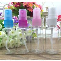 5X 30Ml Empty Mini Plastic Perfume Transparent Atomizer Spray Bottle Travel UL