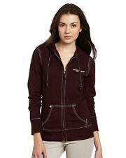 True Religion Women's Hoodie Cotton Jacket with Hood M