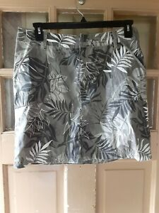 Crazy Shirts Tropical Print Hawaiian Skirt Size 10