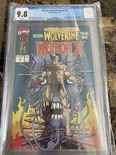 Marvel Comics Presents #72 - CGC 9.8 WP - 1st Appearance Weapon X / Origin...
