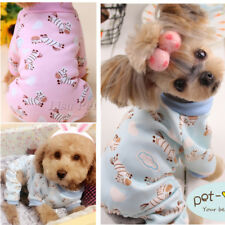 Dog Pajamas Size Small,Extra Small,Medium Puppy Sleepwear Jumpsuit Toy Poodle