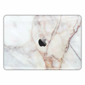 Macbook Pro Air 13 15 Skins case Sticker Decal vinyl White Marble Pattern FSM044