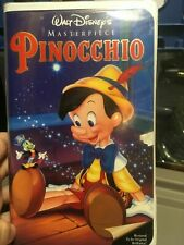 Pinnocchio VHS Disney