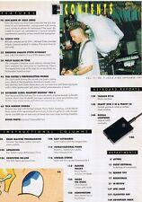 1991 Yamaha RY30 Buchla, Peavey DPM SE SX Keyboard Magazine Reviews, JESUS JONES
