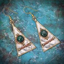 New Tara Mesa Nadia Malachite Earrings