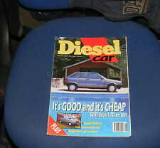 DIESEL CAR ISSUE 23 AUGUST 1990 - SEAT IBIZA 1.7D/MONTEGO/FORD'S PEOPLE CARRIER