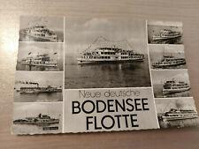 Postkarte Neue deutsche Bodenseeflotte  ungel_