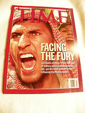 Time Magazine October 15, 2001 Facing The Fury