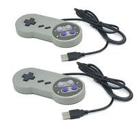 2x Nintendo game controller SFC GamePad for Windows PC MAC USB Super famicom