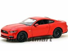 FORD MUSTANG 2015 1:18 Scale Miniature Toy Diecast Model Car Models Cars Red