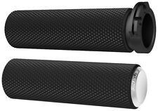 Arlen Ness - 07-326 - Fusion Series Grips, Knurled - Chrome