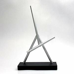 The Swinging Sticks Kinetic Energy Sculpture, Perpetual Motion Desktop Toy