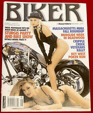 NEW Biker Magazine by EasyRiders #213 August 2003 David Mann Centerfold