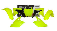 Kit Plastiche Suzuki RMZ 250 2010=>2017 Giallo Fluo Yellow Plastics Kit