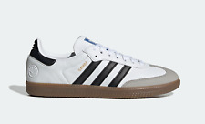 adidas Originals Mens Samba Vegan Trainers White/Black