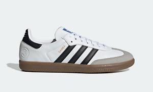 Adidas Originaux Hommes Samba Vegan Baskets Blanc/Noir