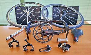 CAMPAGNOLO RECORD 10 sp. ERGOPOWER groupset italian road bike FSA CINELLI MAVIC