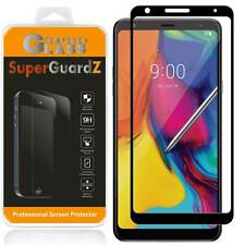 FULL COVER Tempered Glass Screen Protector Shield For LG Stylo 5 / Stylo 5+ Plus